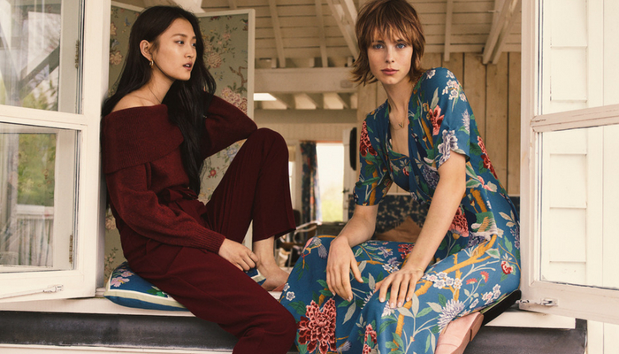 H&M teams up with GP & J Baker
