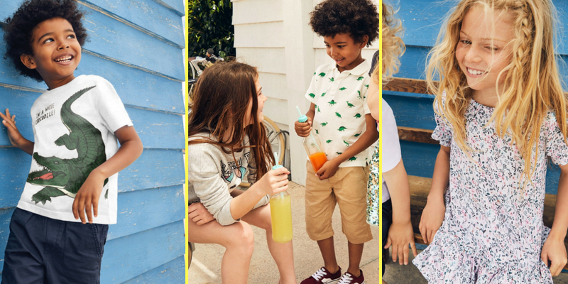 H&M Kids SS18 Collection