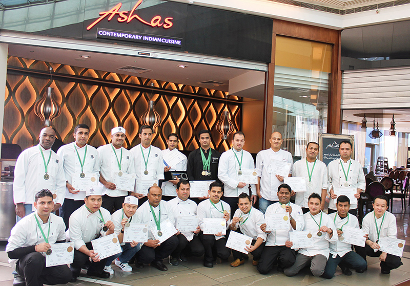 Asha winners at Horeca